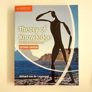 Theory Of Knowledge for the IB Diploma, cambridge - Richard van de lagemaat