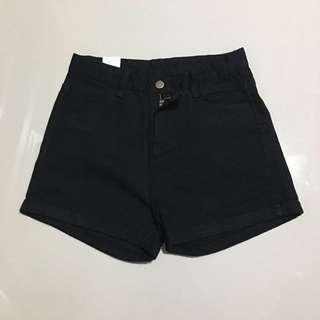 instock!! Black High Waisted Shorts