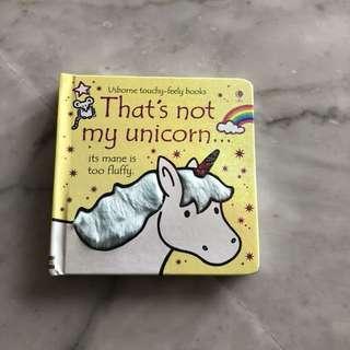That's not my unicorn book