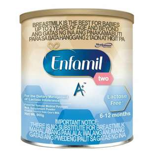 Enfamil Two A+ : Lactose Free