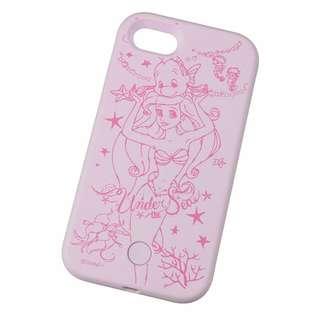 現貨 日本Disney Store Ariel & Flounder iPhone 7 Case 小魚仙閃燈電話殼
