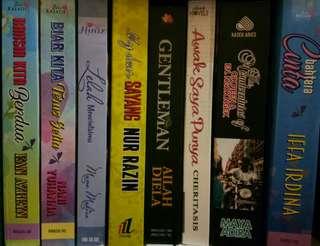 Preloved Novels..good condition