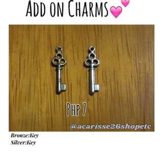 Add on charms: Keys