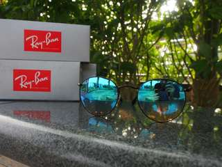 Ray-Ban RB3447 Round Flash Lenses Gradient-002/4O   Rayban