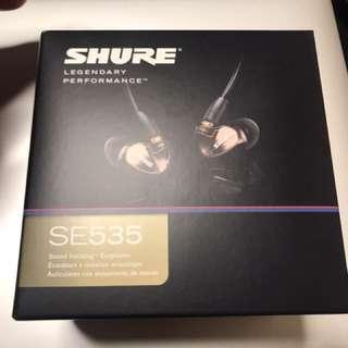 Shure SE535 100% new