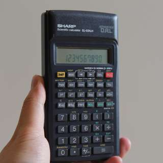 Kalkulator / Calculator Sharp Scientific Calculator