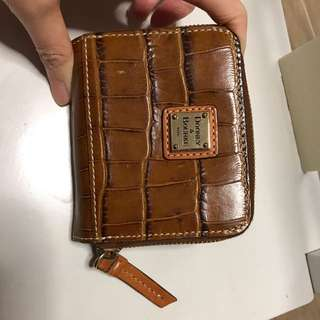 Dooney leather wallet