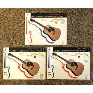 Guitar Books-FJH Young Beginner Guitar Method