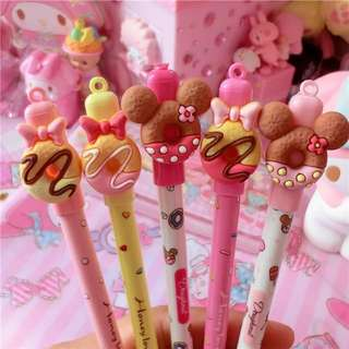 Mickey/Minnie & Donut Erasable Pen (Individual Package)
