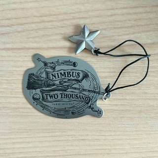 Original brass bookmark Harry Potter