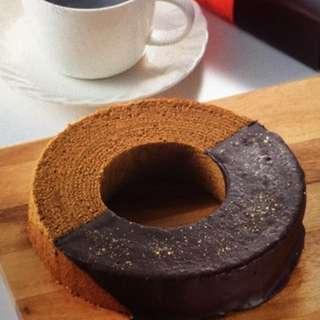 曰本金澤咖啡年輪蛋糕