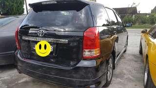 Toyota wish 1.8 (a) vvip