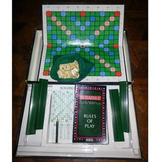 Scrabble with Box