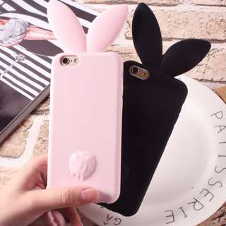 Bunny Ears Iphone 6/6s/6+/7/7+/8/8+ Mobile Casing