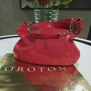 Authentic Oroton Alpine Chain Hobo