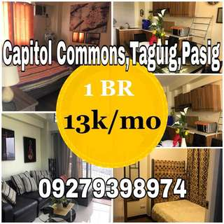 1BR FOR AS LOW AS 13k monthly at Bagong Ilog Pasig,Ortigas,Shaw Blvd,Taguig