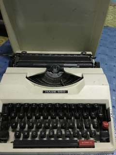 Typewriter machines