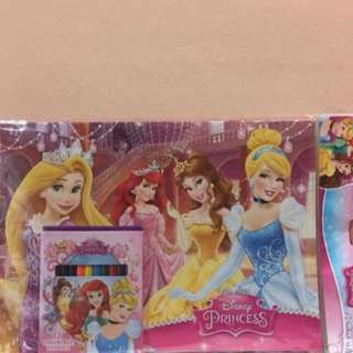 Disney Princess Colour Book Set