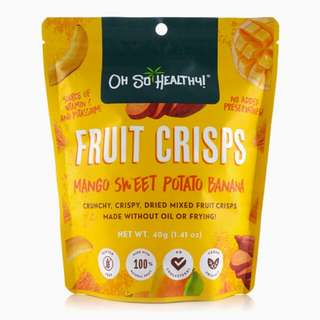 OH SO HEALTHY! Dried Fruits Crisps