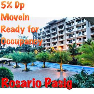 Promo 5% Spot Downpayment for 2Br and 3Br at Rosario Pasig
