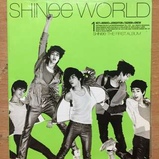 SHINee第一張專輯 SHINee World