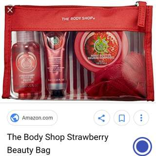 Strawberry beauty pack
