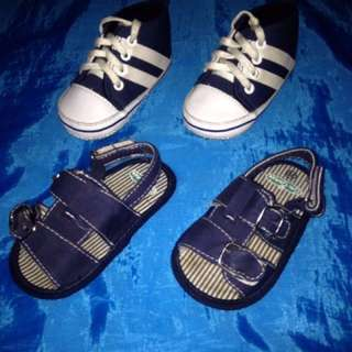 Crib couture toddler shoes(set)