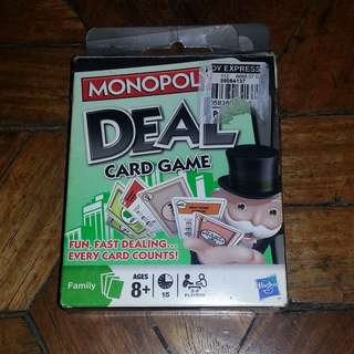 Monopoly Deal & PictureKa Card Games