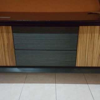 Bufet tv size 155 x 50 tinggi 60 cm