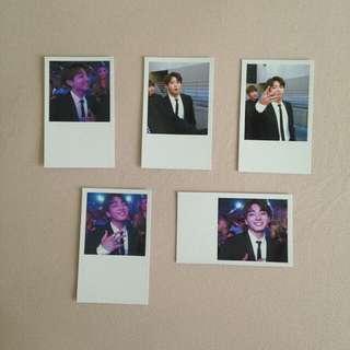 Lomo Card Set 1: BMAs Glam Jungkook ✨