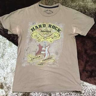 Hard Rock Cafe Paris Tshirt