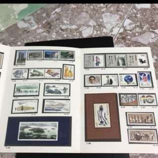China stamp 1989 Mint Set whole year album —final clearance sales