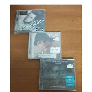 :) BRAND NEW all male ASSORTED CDs