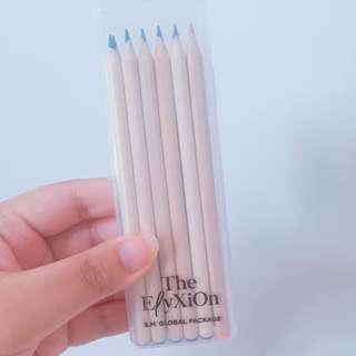 EXO Elyxion Goods Wooden Color Pencils