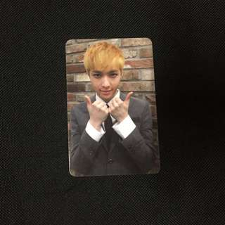 EXO Lay Growl photocard (official)