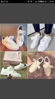 Puma緞帶鞋