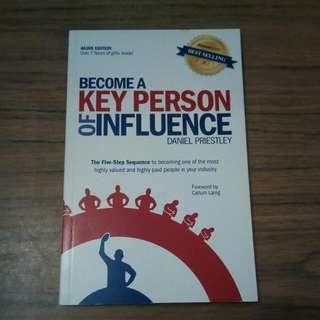 Book: Become a Key Person of Influence by Daniel Priestley