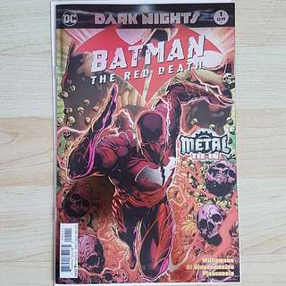 DC Comics Batman The Red Death Dark Nights One Shot First Print Foil Cover