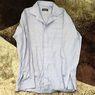 Sparkman Shop Shirt ( Stripe Purple)