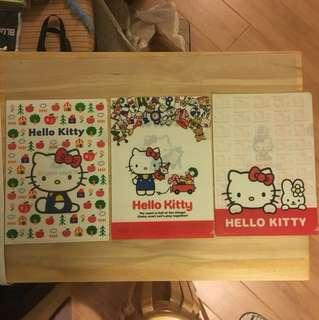 Hello Kitty A4 File (1套3個-包郵)