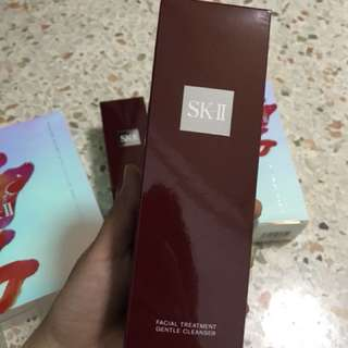 Authentic SKII facial treatment gentle cleanser