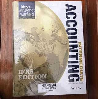 Intermediate Accounting IFRS Edition- Keiso 2nd Edition