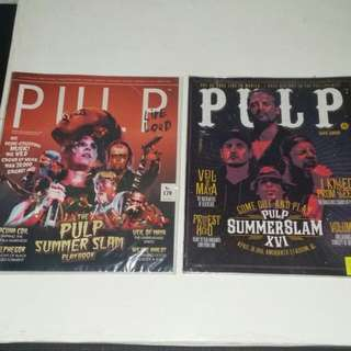 Pulp Live Loud Magazines Issues 175 And 179