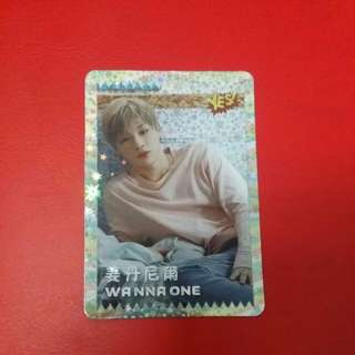 《Yes》22nd yescard - Wanna One 姜丹尼爾 閃#2270(S)