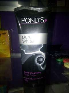 Pond's deep cleansing