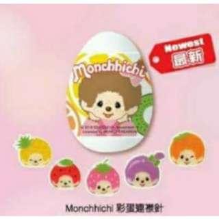 Monchhichi襟章 (紅色)
