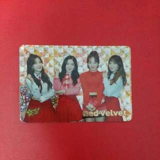 《Yes》 18th yescard - Red Velvet 閃 #1875(S)