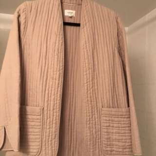 WILFRED PINK LINEN JACKET