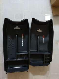 賓士W212 中央扶手置物盒