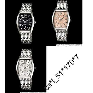 深水步有門市 全新原裝正版正貨有保養有單 Casio 手錶 SHEEN SHE-4027D